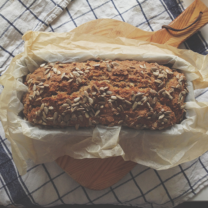 Homemade bread by Babes in Boyland
