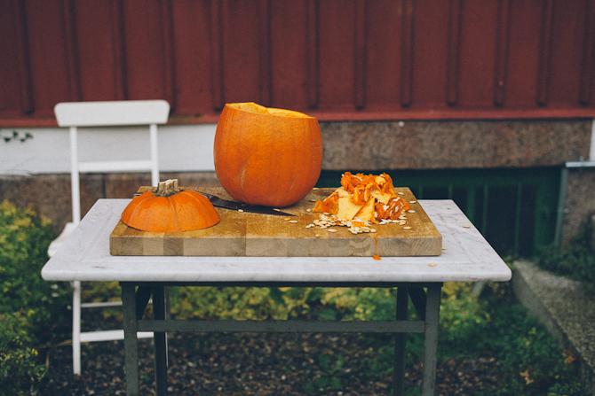 Haloween pumpkin by Babes in Boyland