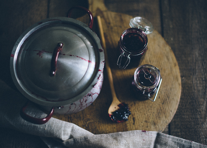 Blackberry jam by Babes in Boyland