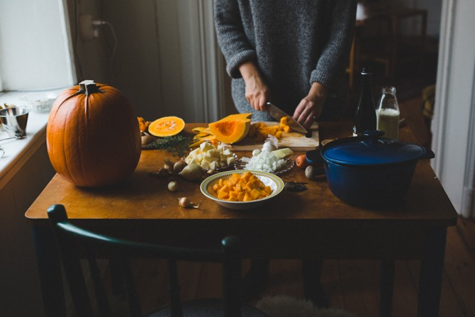 Pumpkin soup by Babes in Boyland