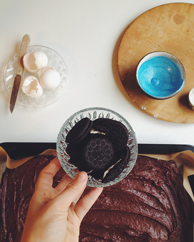 Oreo Brownie by Babes in Boyland