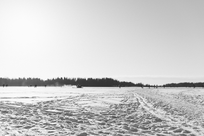 Cross-country skiing (Sweden) by Babes in Boyland