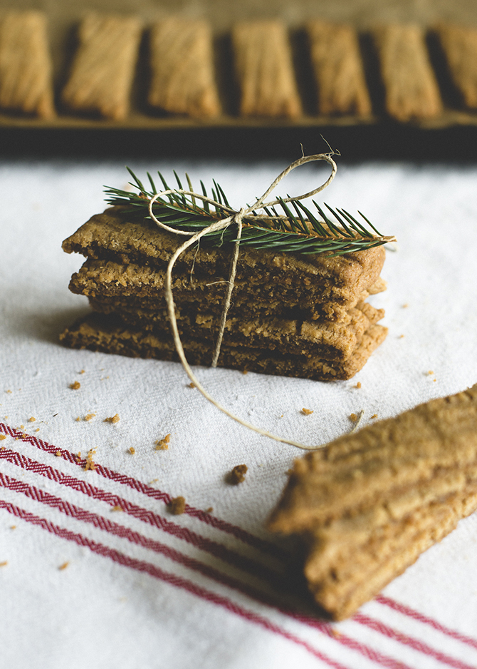 Gingerbread slices by Babes in Boyland