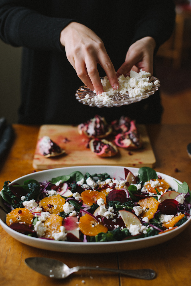 Winter Salad by Babes in Boyland