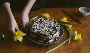 Easter Chocolate Cake by Babes in Boyland
