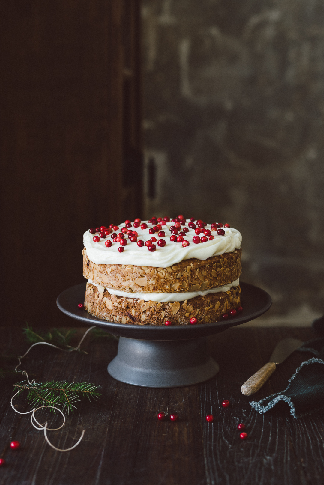 Christmas cake by Babes in Boyland