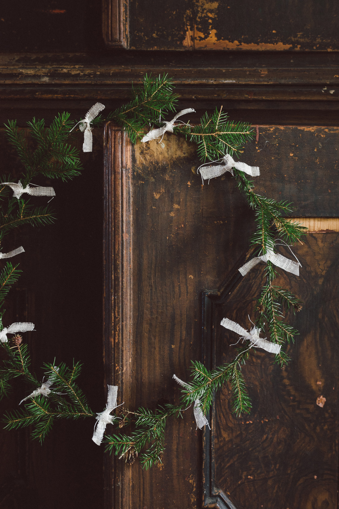 Winter wreaths by Babes in Boyland